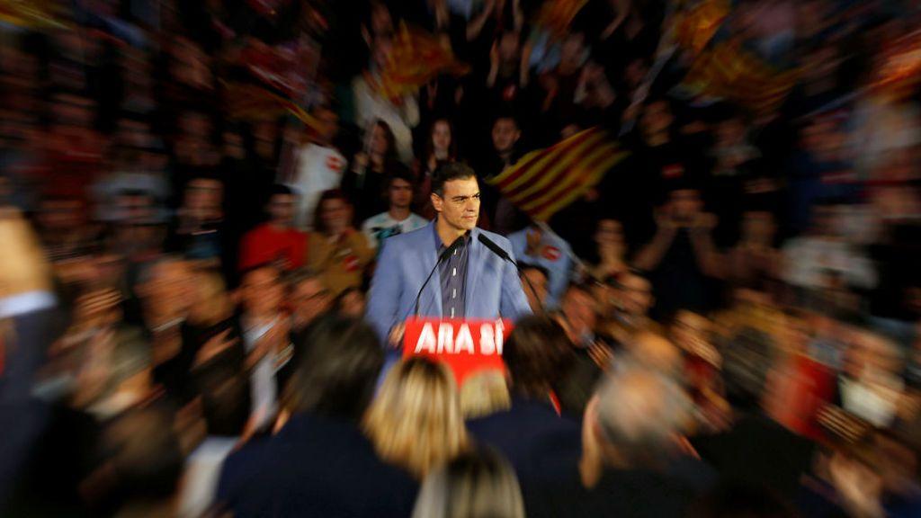 Sánchez cierra campaña en Barcelona