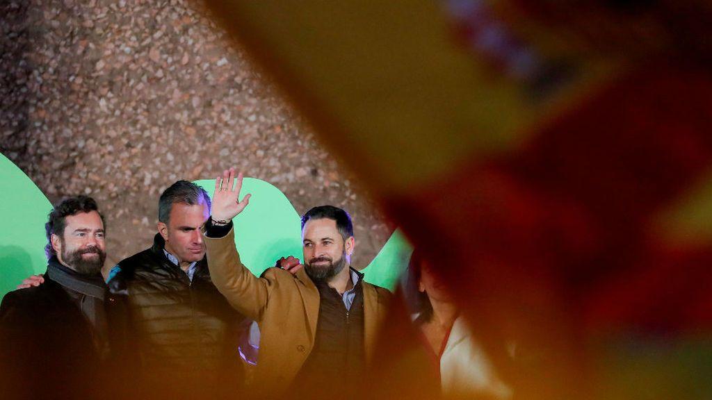 Abascal decide cerrar campaña en su campaña en la plaza de Colón de Madrid