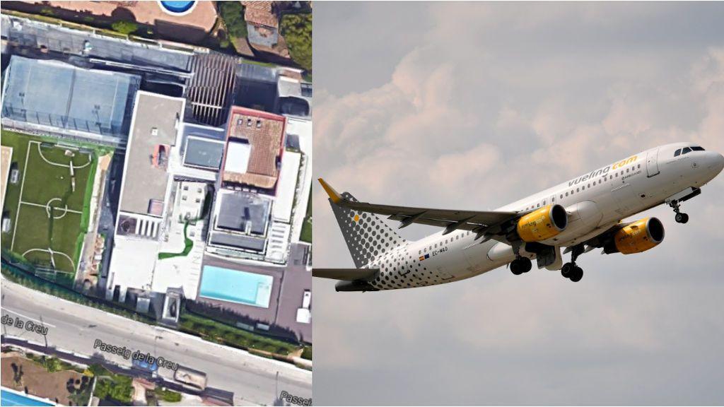 La explicación a por qué los aviones no pueden sobrevolar la casa de Messi en Barcelona