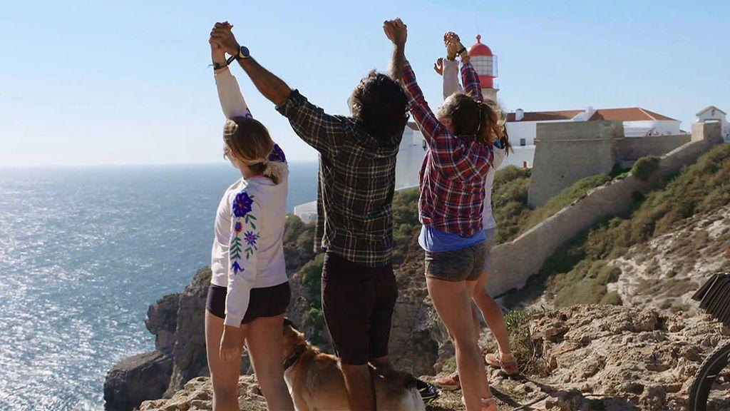 """Pablo y sus chicas llegan al Cabo de San Vicente: """"Este no es el final, es el inicio"""""""