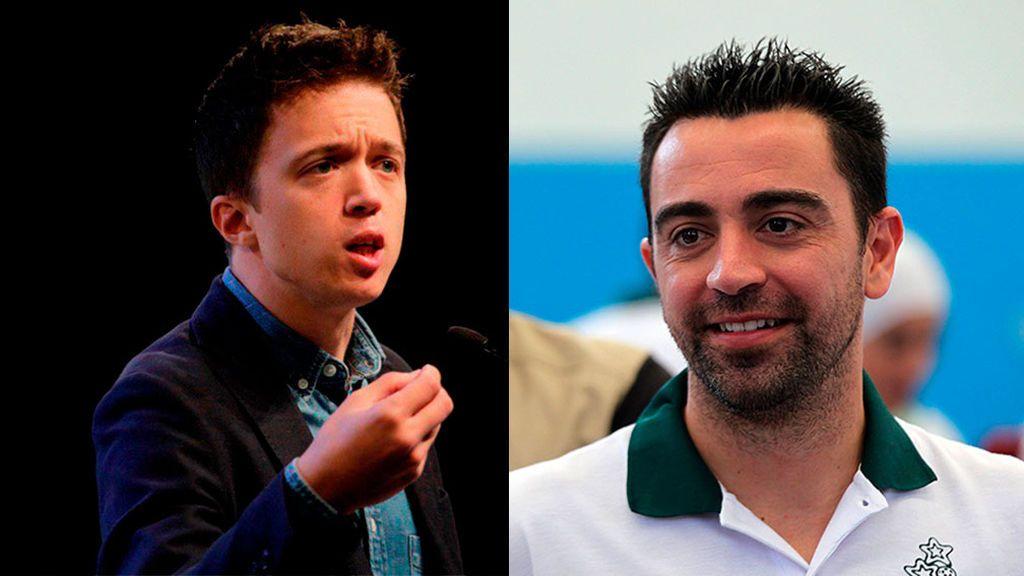 Errejón y Xavi Hernández