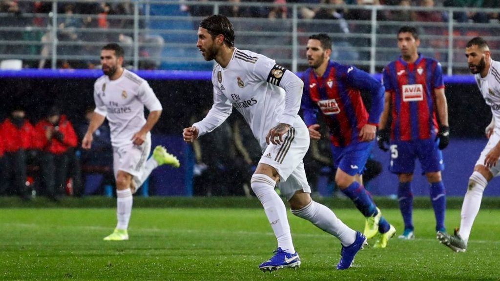 """Sergio Ramos dedica su gol a un niño que podría no volver a jugar al fútbol: """"No bajes la cabeza, compañero de zaga"""""""