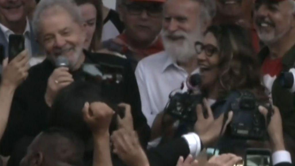 """'Lula' se declara """"libre"""" y con """"deseos de lucha"""" en un mensaje a la Izquierda latinoamericana"""
