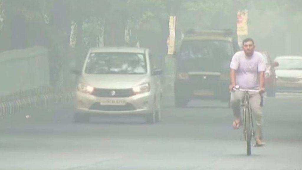 El aire de Nueva Delhi alcanza niveles pocos saludables