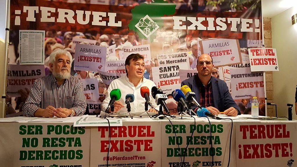 El éxito de Teruel Existe le permite entrar en el Congreso y el Senado