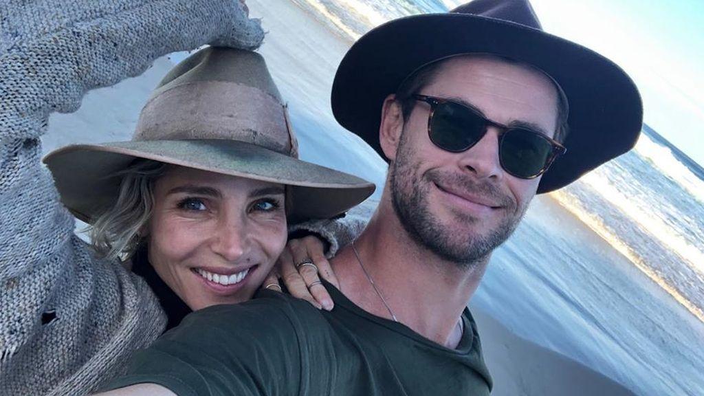 Chris Hemsworth le hace pasar un mal rato a Elsa Pataky: El actor la boicotea durante su entrenamiento