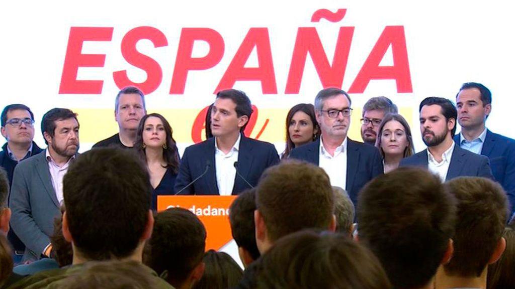 Albert Rivera no dimite como presidente de Ciudadanos y convoca de urgencia a la Ejecutiva