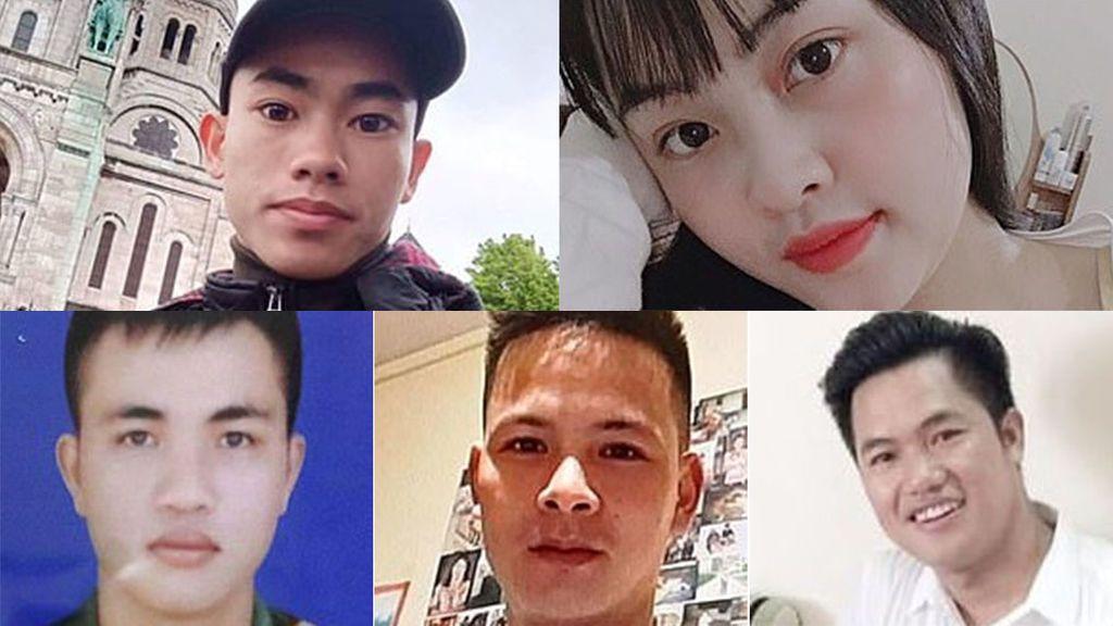 Los rostros de la tragedia de Essex: Hay 10 adolescentes entre los 39 cadáveres del camión