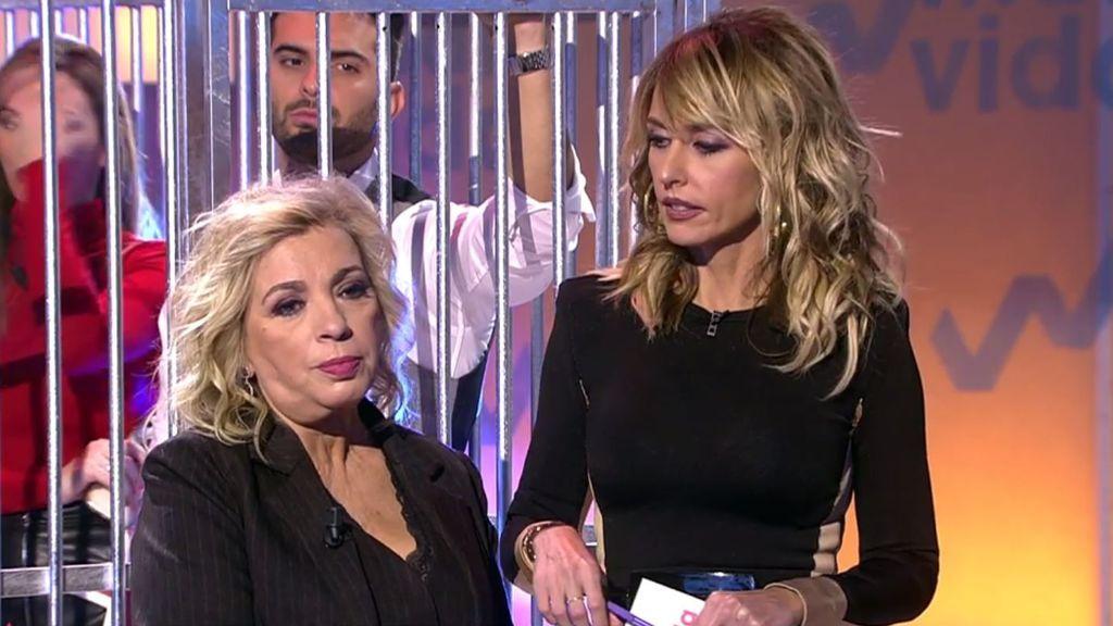 Carmen Borrego reacciona a las críticas de sus compañeros
