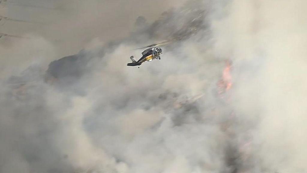 El fuego amenaza los estudios de Warner Bros en Los Ángeles
