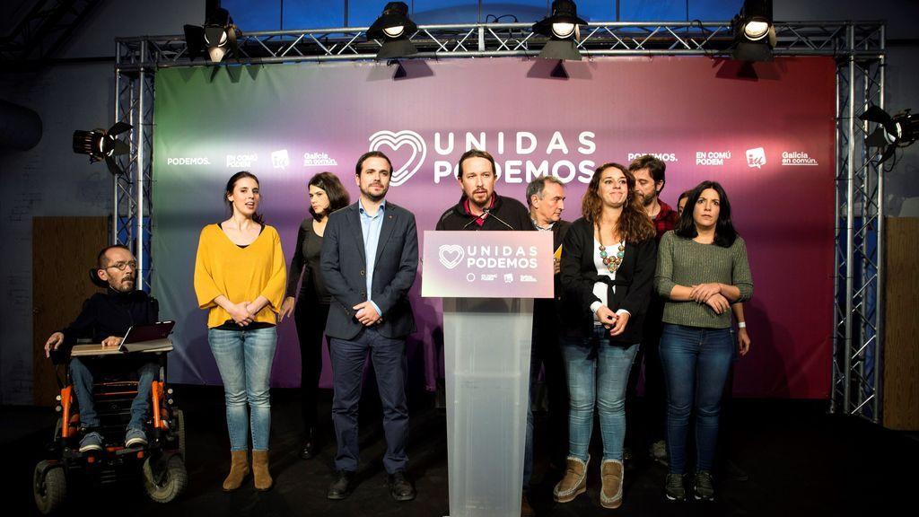 Podemos sigue retrocediendo y pierde siete escaños con respecto a las elecciones de abril