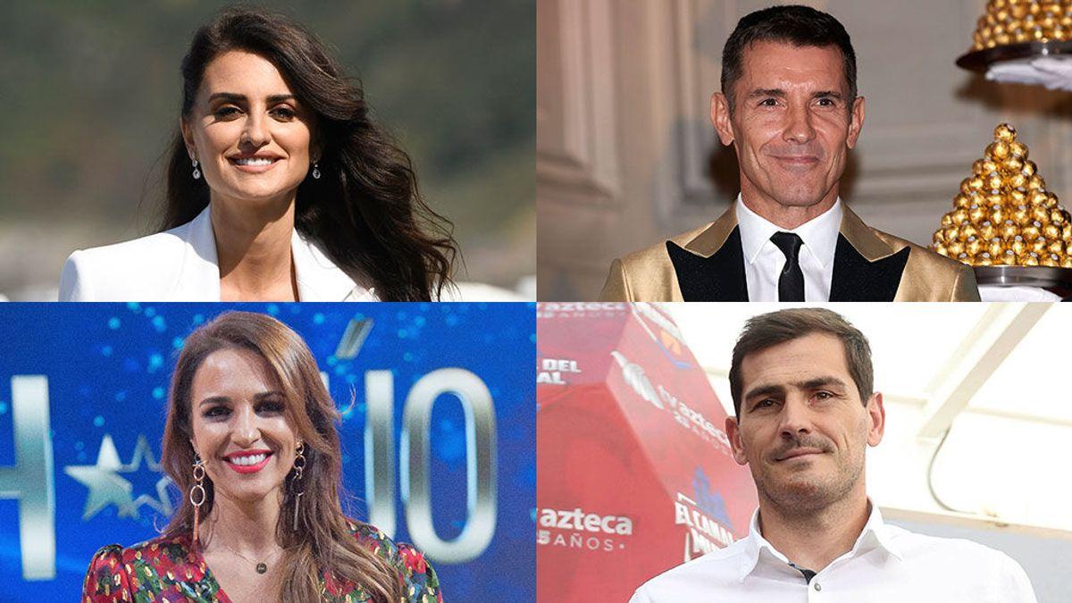 Los famosos animan a la gente a votar