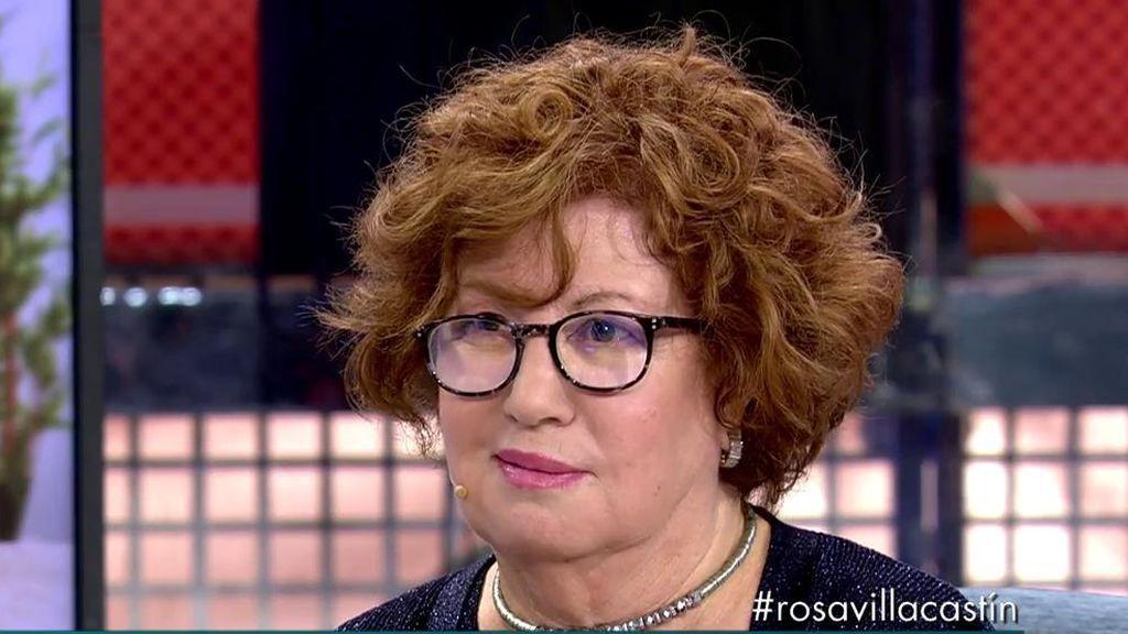 """Rosa Villacastín repasa su trayectoria profesional y le lanza un zasca a María Teresa Campos: """"Ha traspasado los límites de la televisión""""."""