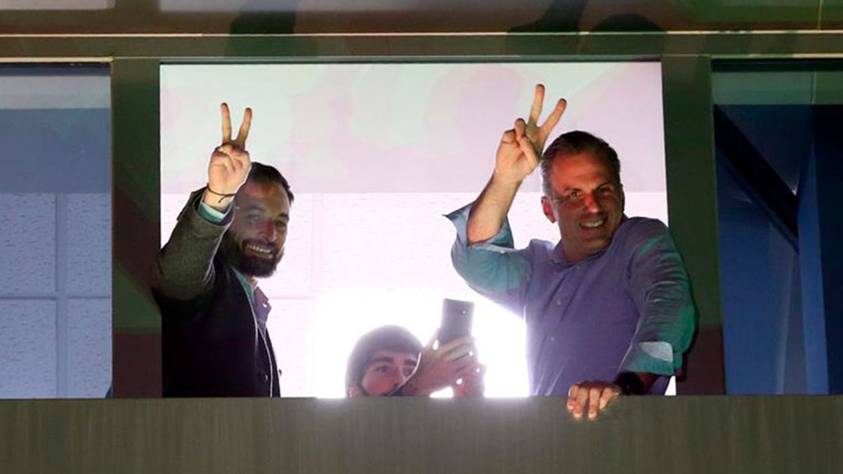 Vox primera fuerza en Murcia y tercera en Andalucía