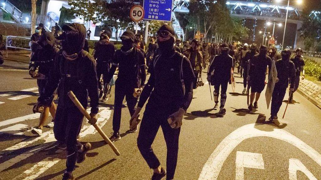 Los manifestantes de Hong Kong sugieren trasladar las protestas a los centros comerciales