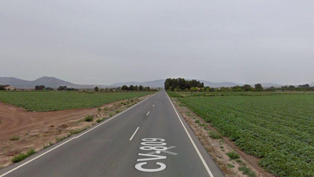 Fallece un joven de 18 años en un accidente de tráfico en Villena (Alicante)