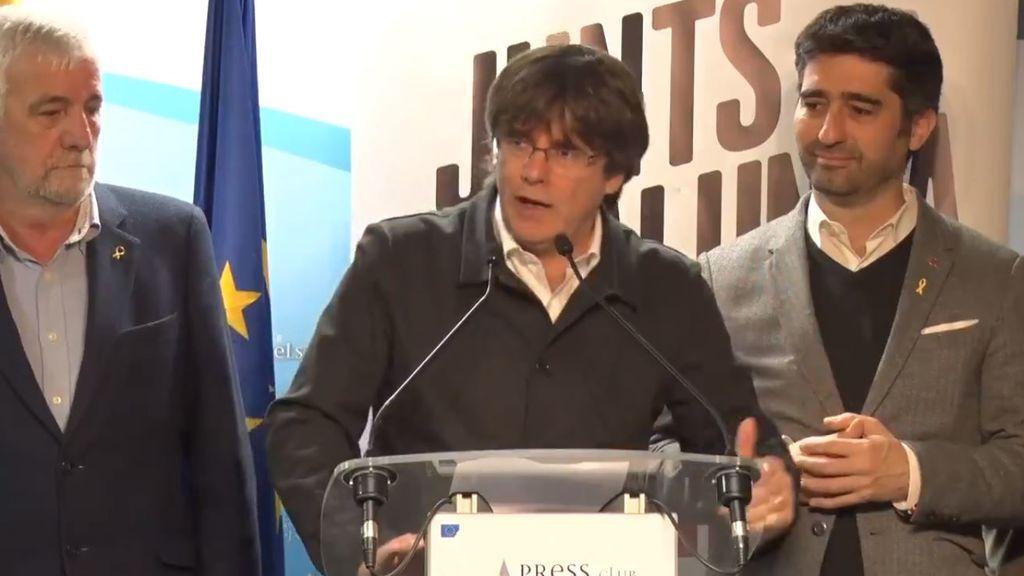 """Carles Puigdemont: """"Hemos hecho posible lo que nos decían que era imposible"""""""