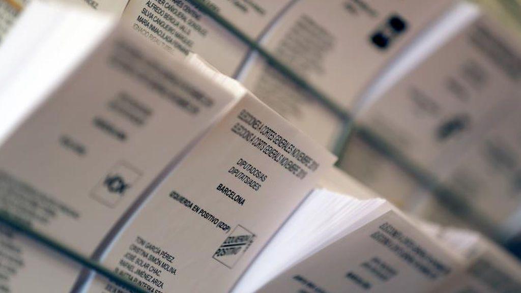 """Las papeletas con """"Elecciones Generales Noviembre 19"""" son válidas"""