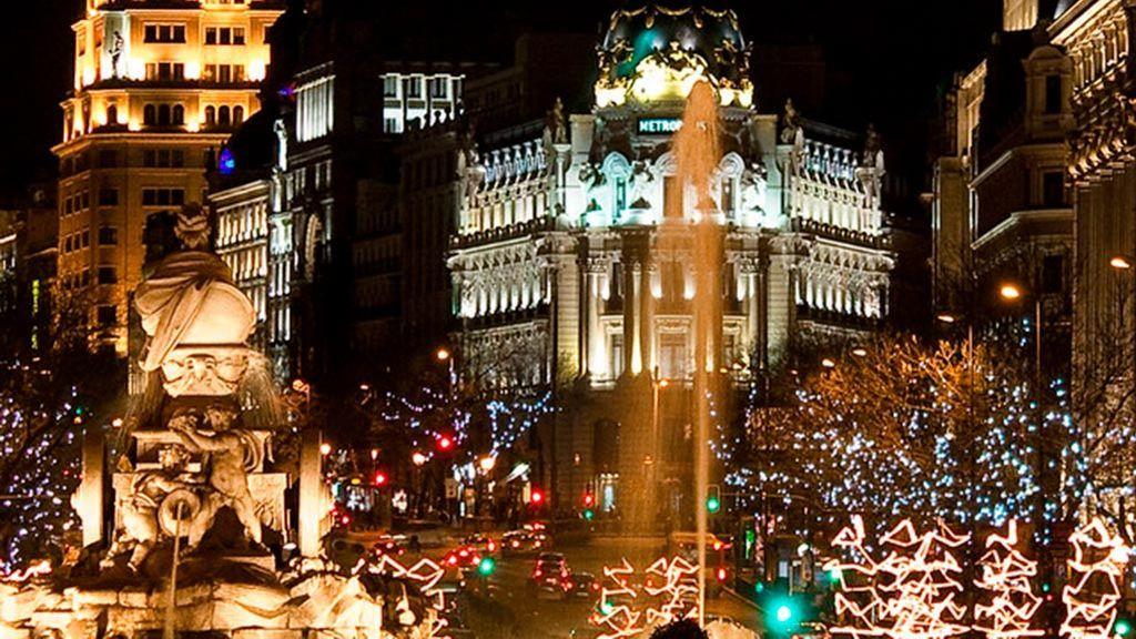 Madrid, Málaga y Vigo compiten por ver quien tiene la ciudad más 'brillante'