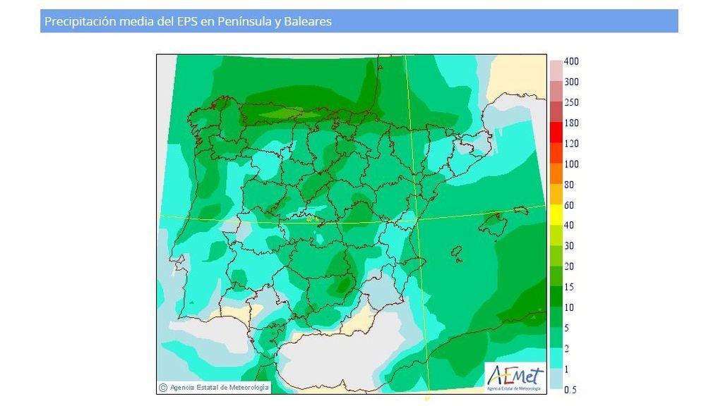 precipitacion media miercoles