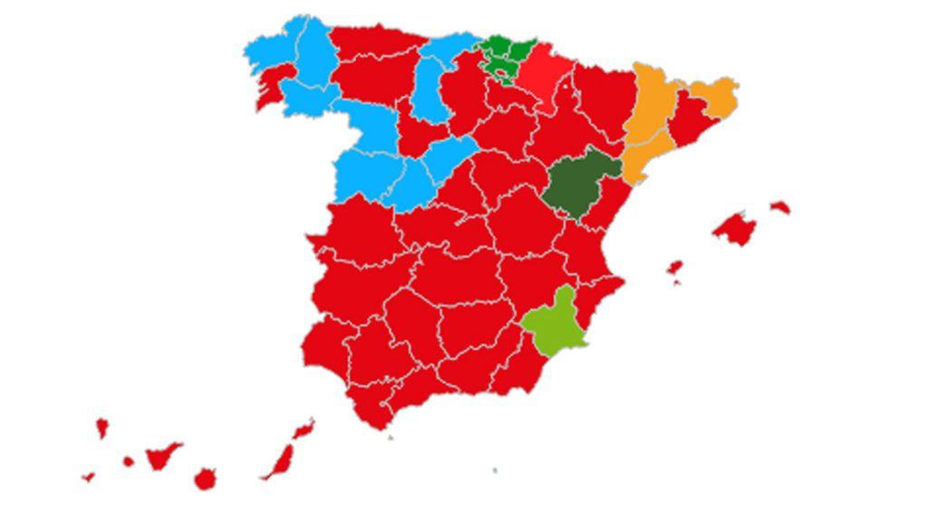 El 10N por Comunidades: Vox avanza sin freno en Andalucía y el PP alacanza al PSOE en Madrid
