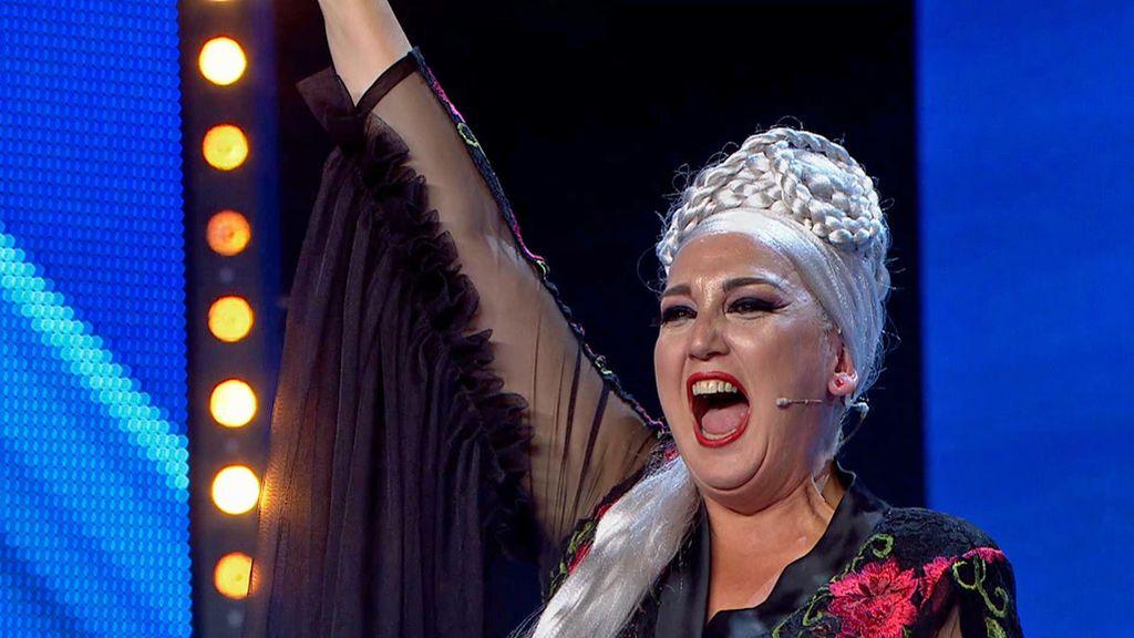 """Risto, encantado con el espectáculo de Miren de Miguel: """"Lo que acabas de hacer proyecta la ópera al Siglo XXI"""""""
