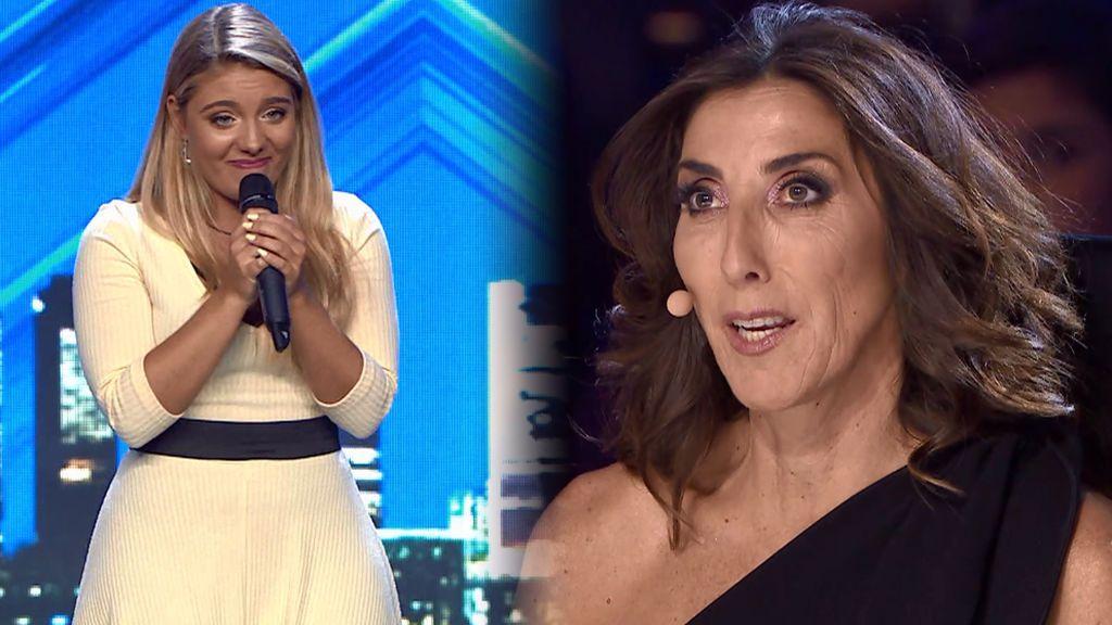 """Lucía Briss lo intenta por segunda vez en 'Got Talent' y recibe las disculpas de Paz: """"Perdóname por la tontería que te dije"""""""