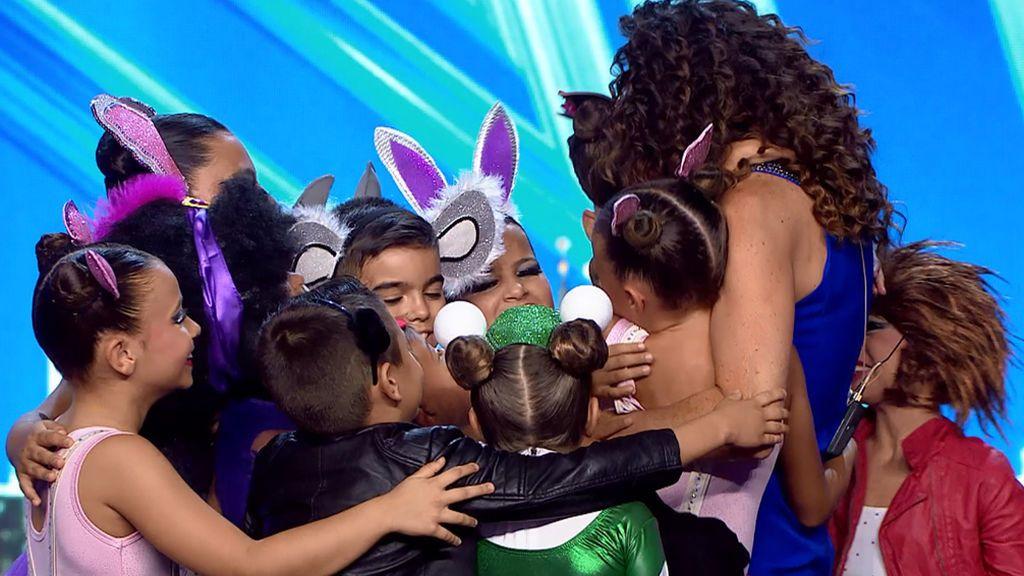 """Los niños de 'Minidanceteam' conquistan al jurado y enamoran a Paz: """"Para nosotros eres nuestra favorita"""""""