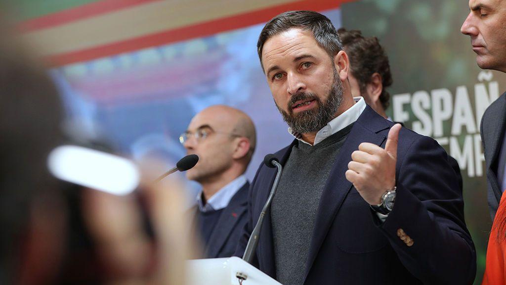 Abascal presume de haberle robado 300.000 mil votos al PSOE