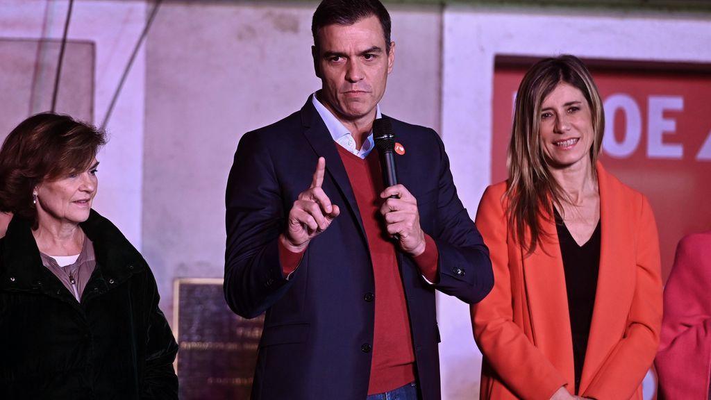 La noche electoral del 10-N, EN IMÁGENES