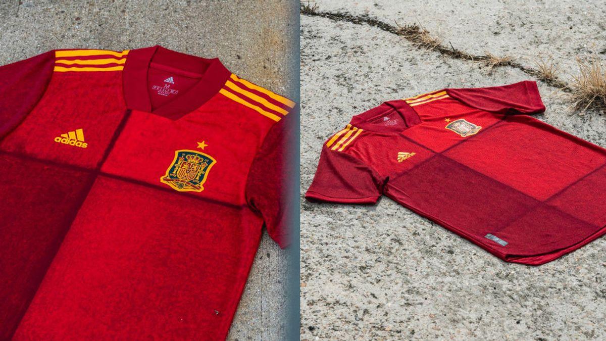 Oficial: la nueva camiseta de la Selección Española para la Eurocopa 2020, a cuadros