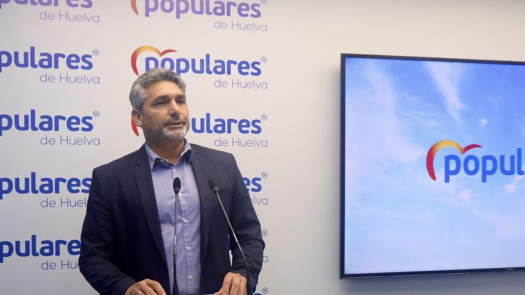Juan Cortés (PP) se queda  fuera del Senado