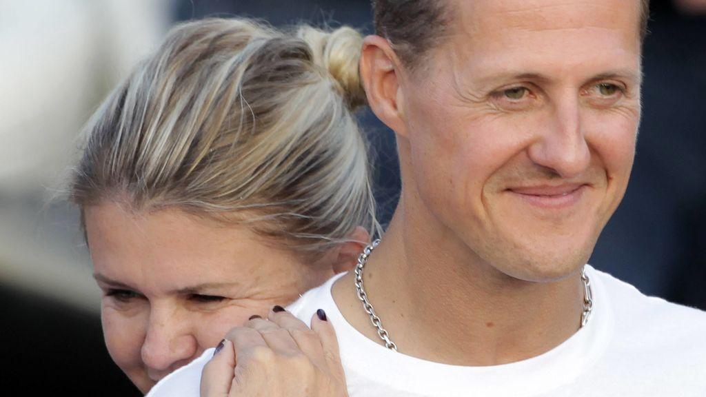 """La discreción sobre el estado de salud de Schumacher, según su mujer: """"Estamos haciendo la voluntad de Michael"""""""