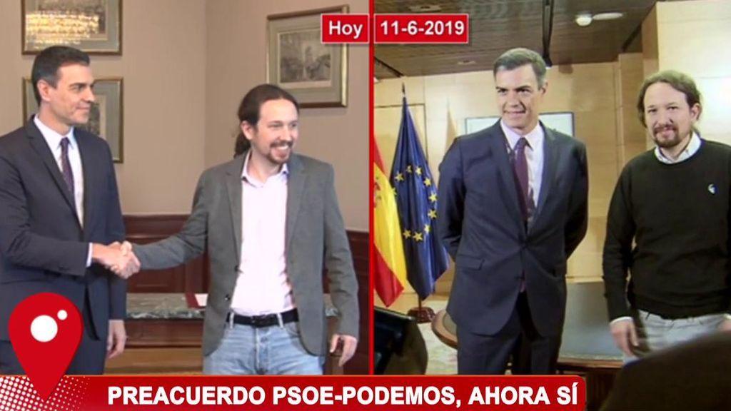 El antes y el después del gobierno progresista