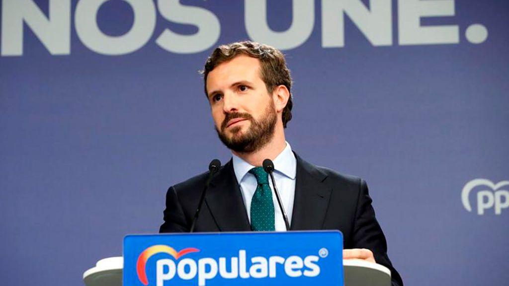 """El PP califica de """"drama para España"""" el acuerdo entre Sánchez e Iglesias"""