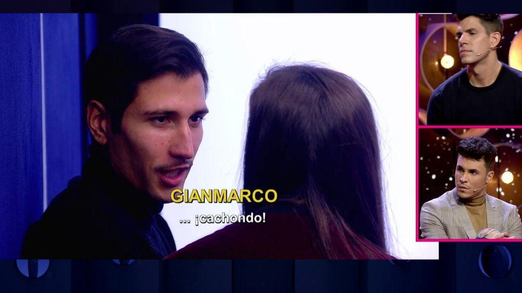 """Gianmarco le desvela a Adara detalles de la relación de Kiko y Estela: """"Estaban los dos muy pillados"""""""