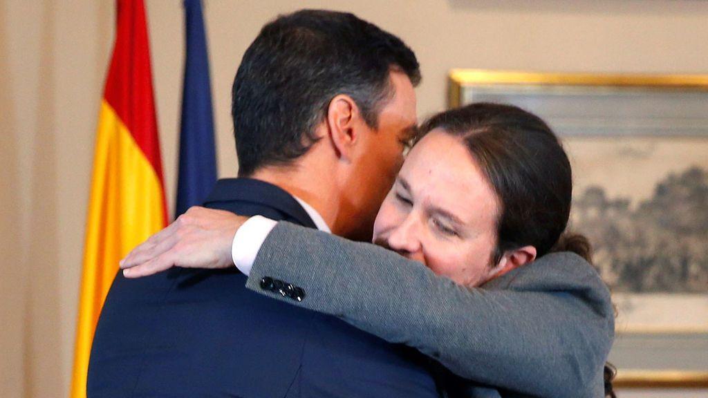 "Sánchez e Iglesias acuerdan un ""Gobierno progresista de coalición"""