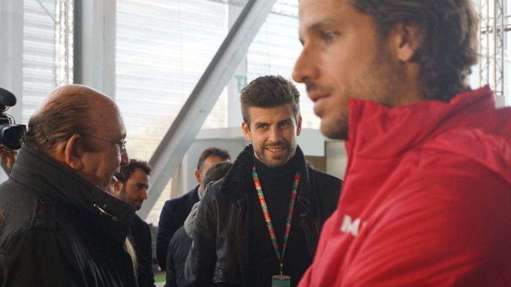 """Gerard Piqué, sobre la inminente Copa Davis: """"Estoy un poco nervioso por que todo salga bien"""""""
