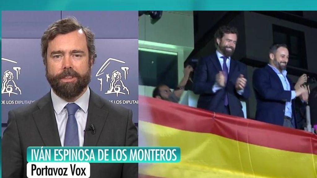 """Espinosa de los Monteros: """"Nos hemos recorrido los pueblos de España para escuchar, no para regañar a los votantes"""""""