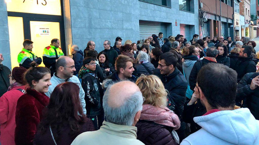 Una promotora paga 20.000 euros a unos ocupas para que se vayan de un edificio en Barcelona