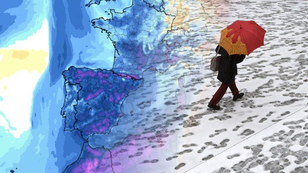El invierno llega el jueves: una masa polar desplomará los termómetros y la cota de nieve