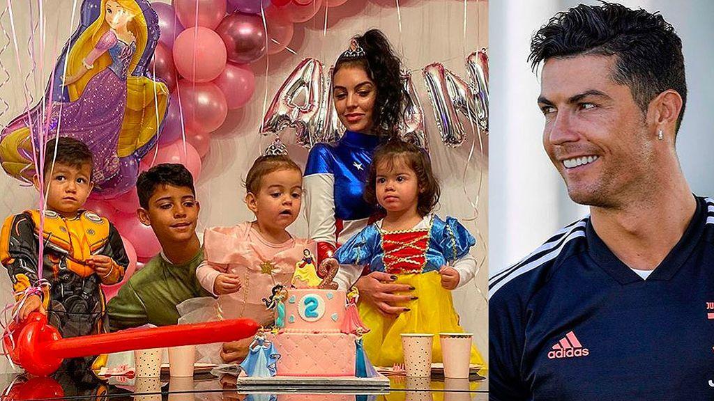 """Cristiano Ronaldo felicita el cumpleaños a Alana Martina en la distancia: """"Felicidades, mi amor"""""""