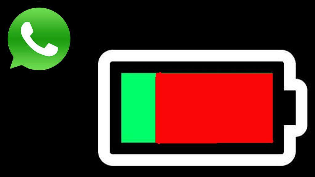 Un fallo de  WhatsApp se 'come' el 40% la batería de estos móviles