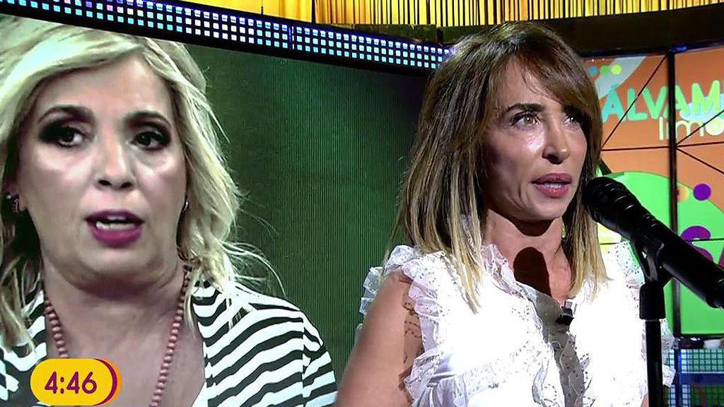 El arrollador alegato de María Patiño contra Carmen Borrego
