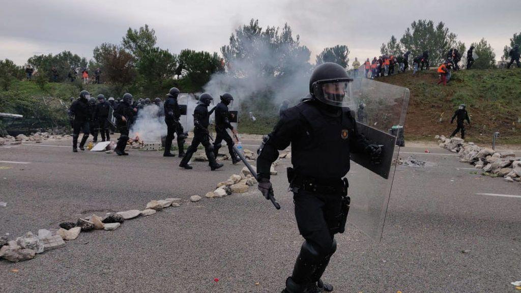 Las protestas independentistas pierden afluencia pero el impacto económico ya supera los 15 millones