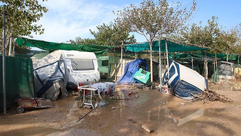 Todos los campings de la provincia de Valencia están en zonas inundables