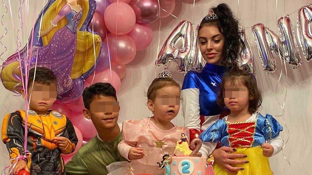 """Georgina Rodríguez organiza una fiesta de disfraces para celebrar el cumpleaños de su hija Alana: """"Te amamos"""""""