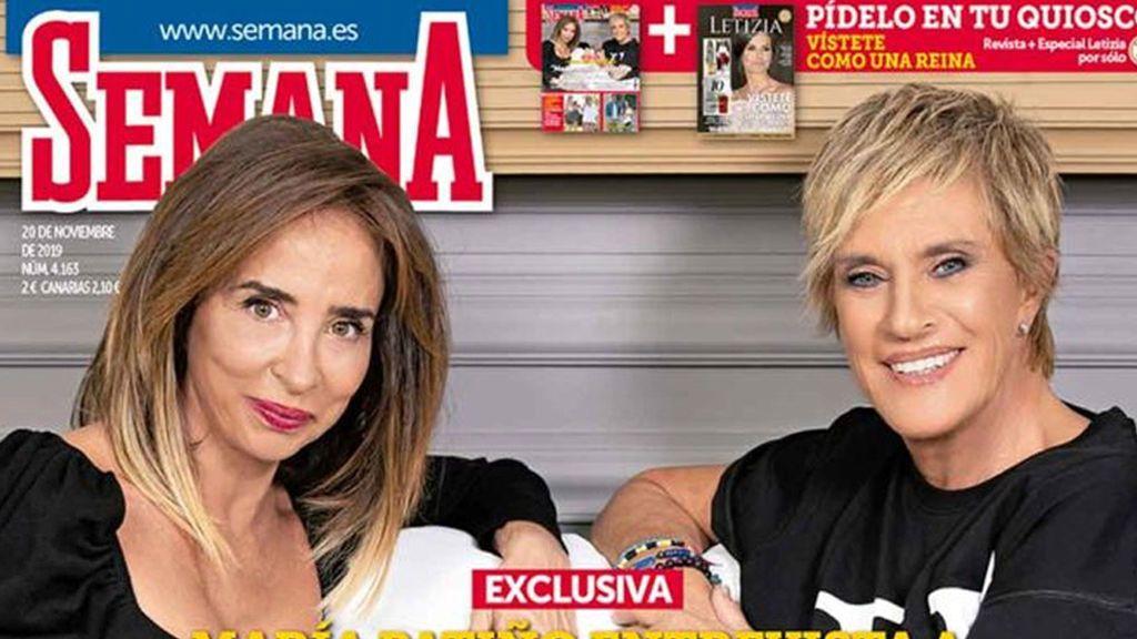 "María Patiño entrevista a Chelo García Cortés: ""Me he sentido utilizada por Isabel Pantoja"""