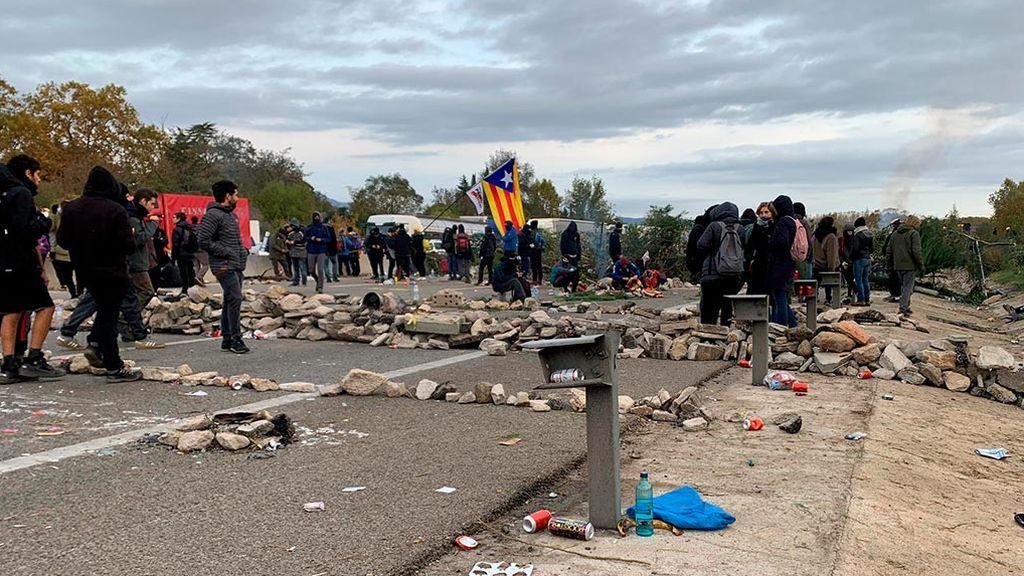 """Los CDR se niegan a abandonar el bloqueo de autopistas: """"Independencia o barbarie"""""""