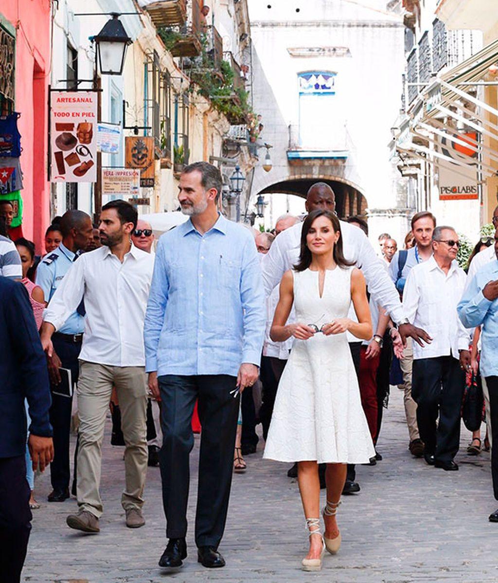 Los Reyes por la Habana Vieja